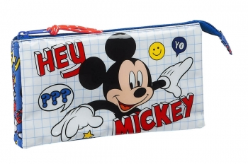 Estuche Mickey Things Triple