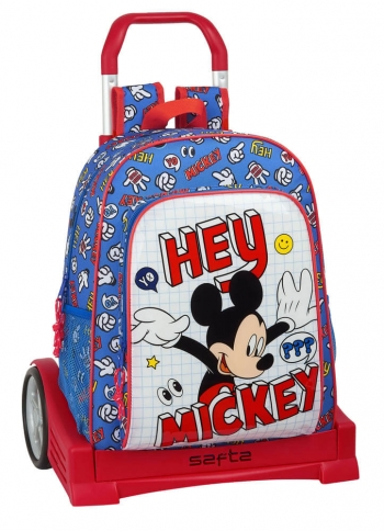 Mochila Mickey Things Con Carro Evolution