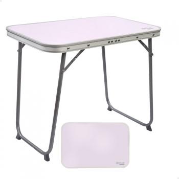 mesa camping plegable con sillas carrefour