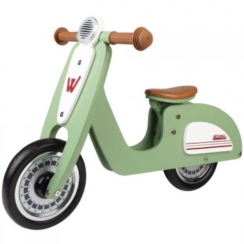 "Bici Sin Pedales De Madera Scooter 10"" Woomax"