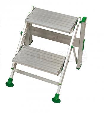 Escaleras taburetes o carretillas al mejor precio for Taburete plegable carrefour