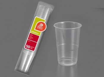 Vaso Desechable Transpare B/50 - Best - 248800 - 250 Cm3