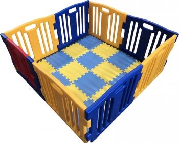3a7381454 Parque De Bebe Xxl 8 Piezas Star Ibaby Play Twin / Mejor Parque Infantil  2017 /