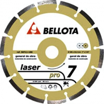 Disco Diamante Basic L - Bellota - 50711 - 180 Mm