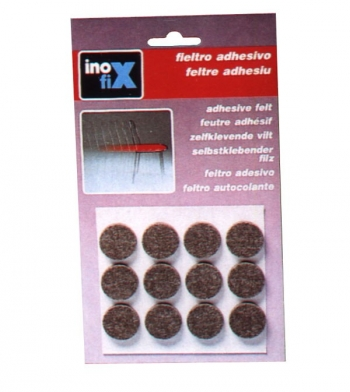 Fieltro Adhesivo Marron - Inofix - 4002-4 - 22x3 Mm
