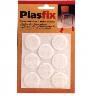 Fieltro Adh. Plasfix Marron - Inofix - 4073-4 - 27x3 Mm
