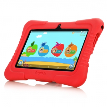"Ainol Q88(a) Tablet Para Niños 1/16gb 7"" Ips Android 8.1 A50 Cortex-a7 Bt4.0 Wifi 3g Rojo"