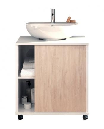 Mobiliario y accesorios de ba o - Armario bajo lavabo pie ...