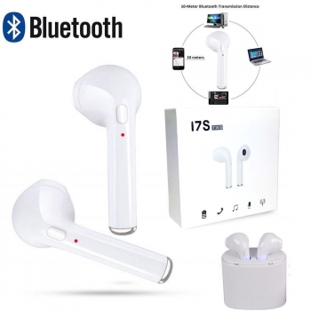 Auriculares Inalambricos Bluetooth Estilo Airpods Air Pods Base Carga Tws 24h