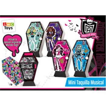Mini Taquillas Musicales Monster High