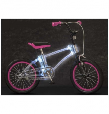 "Bicicleta Phantom 16 "" Fucsia Led"