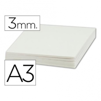 Carton Pluma Liderpapel Doble Cara Din A3 Espesor 3 Mm (pack De 10)