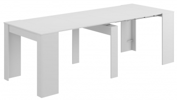 Mesa Consola Extensible Kendra - Color - Blanco