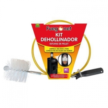 Kit Deshollinador Estufas Pellet 80mm 231544