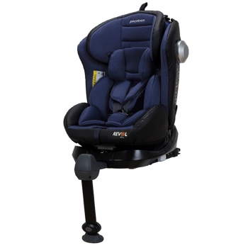Silla De Coche Para Grupo 0, 1, 2 Y 3 Playxtrem Revol Fix Xl, Color Azul