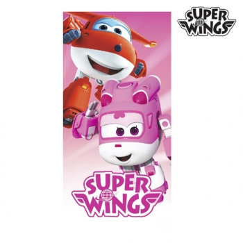 Toalla Playa Algodon De Super Wings