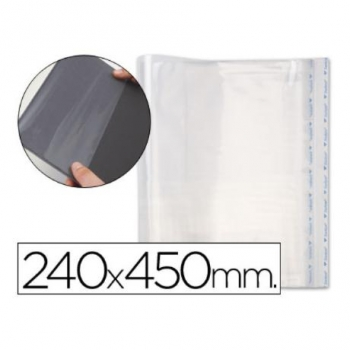 Forralibro Pp Ajustable Adhesivo 240x450mm -blister (pack De 5)