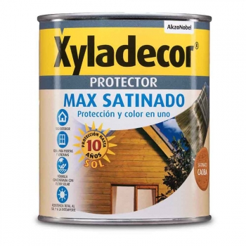Xyladecor Protect Max Satinado Caoba 5l Bruguer - Neoferr