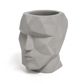 f81a646f2a Balvi Portalapices The Head Color Gris Forma De Cabeza Silueta Geometrica