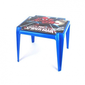Mesa Plastico Remate Spiderman