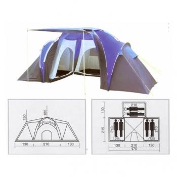 Tienda 3d+living 6p. Dome6