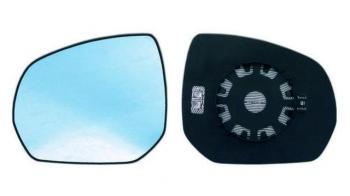 08=/> Recambio cristal espejo retrovisor con base derecho Fiat Fiorino