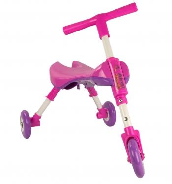 Airel Triciclo Sin Pedales De 1 A 3 Años Medidas: 35x56x41.5cm Color Rosa