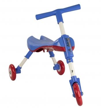 Airel Triciclo Sin Pedales De 1 A 3 Años Medidas: 35x56x41.5cm Color Azul