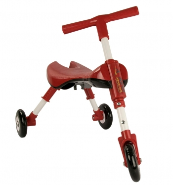 Airel Triciclo Sin Pedales De 1 A 3 Años Medidas: 35x56x41.5cm Color Rojo