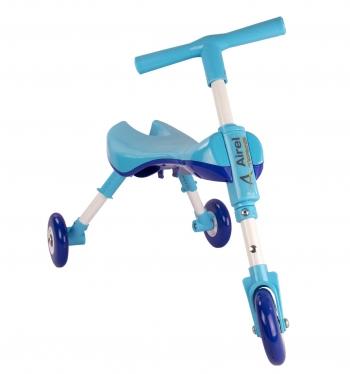 Airel Triciclo Sin Pedales De 1 A 3 Años Medidas: 35x56x41.5cm Color Celeste