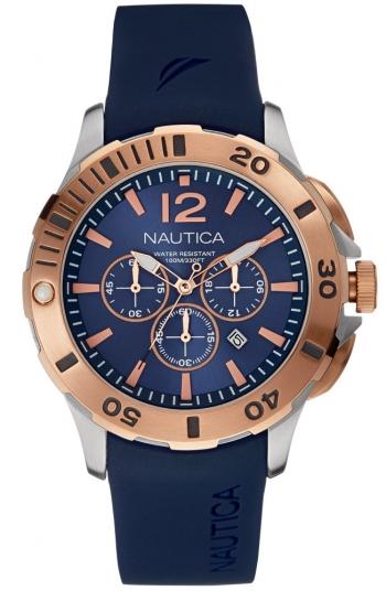 b57f352526e0 Nautica Bfd-101 Dive Style Chrono Relojes Hombre Nai19506g