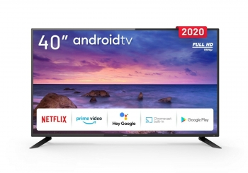 "Tv Engel Le4090atv Led 40""-tdt2/sat2/c - Fhd -androidtv 9.0 + Google Asist.+ Chromecast"