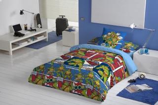 Ropa de cama tortugas ninja sabanas y fundas n rdicas Fundas nordicas carrefour