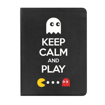 Funda Tablet Tipo Libro 360 Grados Para Ipad 2, 3, 4 Keep Calm And Play - Becool®