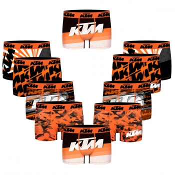 Pack 10 Calzoncillos Ktm Motorbike Para Hombre