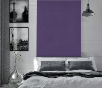 Estor Enrollable Happystor Dark Opaco Liso 211-violeta 95x180