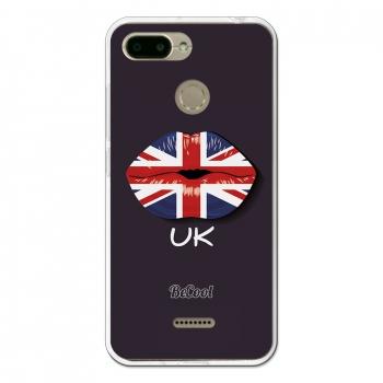 bd02d9a7f6c Funda Silicona Xiaomi Redmi 6 - Becool Bandera Labios Reino Unido