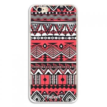 af99e4f9976 Funda Silicona Iphone 6 - 6s - Becool Linea Azteca Rojo