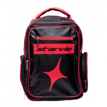 Mochila Star Vie Red Chess Negro Rojo