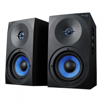 Altavoces Gaming 2.0 Woxter Dynamic Line Dl-410 Fx, 150w, Madera