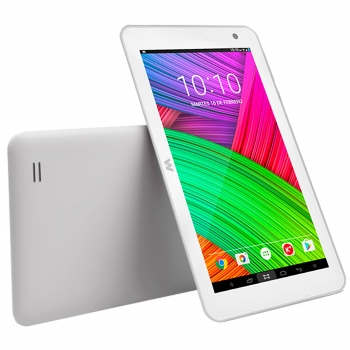 "Tablet Android Woxter X-70 White, 7"" Hd, Quad Core, Android 9.0"