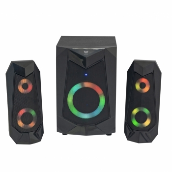 Altavoces 2.1 Woxter Big Bass 180 Fx, 20w, Subwoofer, 3,5mm, Bluetooth