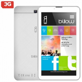 "Tablet Billow X703w 7"" 3g Quad Core 1.3ghz 1gb 8gb Android 8.1"