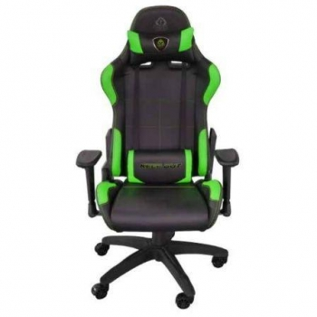 Silla Gamer Keep-out Xs200prog Verde - Base Metal - Ajuste A