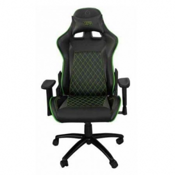 Silla Gamer Keep-out Xs700prog Verde - Base Metal - Ajuste A