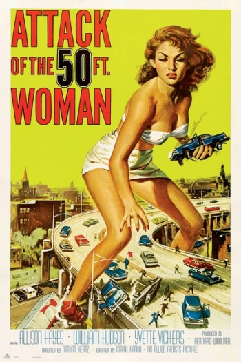 Maxi Poster Attack Of The 50th Woman