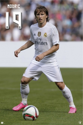 Maxi Poster Real Madrid Modric 2015/2016