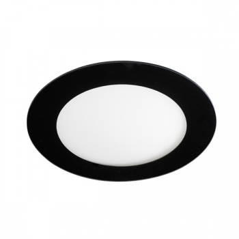 Downlight Led Redondo Cristal 20w (negro) - Wonderlamp