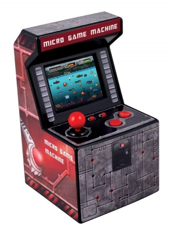 Mini Recreativa Arcade Con 250 Juegos - Rojo
