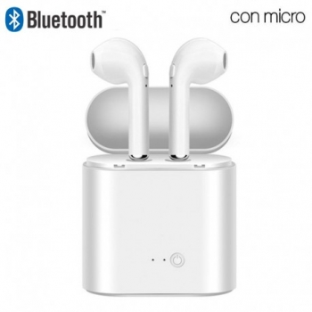 Auriculares Inalambricos Replica Airpods  I7s Mini Powerbank Bluetooth Compatible Iphone, Samsung, Android